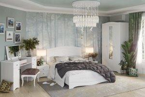 Модульная спальня Флора - Мебельная фабрика «Интерьер-центр»