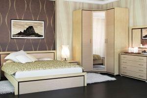 Модульная спальня Глория - Мебельная фабрика «Мебель-Неман»