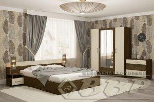 Модульная спальня ЛДСП Соната - Мебельная фабрика «ВВР»