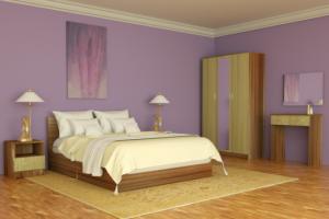 Модульная спальня Линда - Мебельная фабрика «Милана»