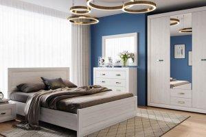 Модульная спальня Мальта - Импортёр мебели «БРВ Black Red White»