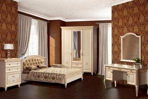 Модульная спальня Марлен - Мебельная фабрика «Яна»