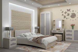 Модульная спальня Марсель - Мебельная фабрика «Стрела»