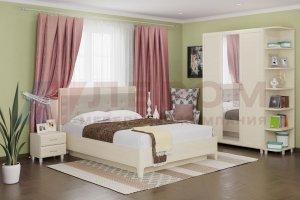 Модульная спальня Мелисса 1 - Мебельная фабрика «Лером»