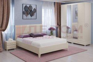 Модульная спальня Мелисса 3 - Мебельная фабрика «Лером»