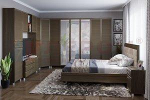 Модульная спальня Мелисса 7 - Мебельная фабрика «Лером»