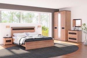 Модульная спальня Модена - Мебельная фабрика «Кураж»