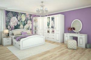 Модульная спальня Молли - Мебельная фабрика «Диана»