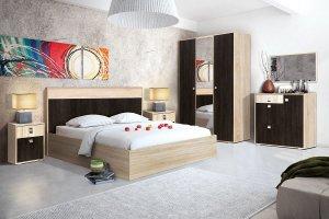 Модульная спальня Монако - Мебельная фабрика «Зарон»