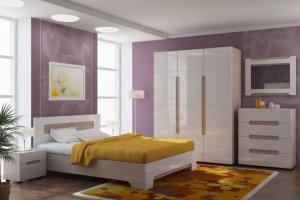Модульная спальня Палермо - Мебельная фабрика «ВиКо»