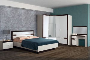 Модульная спальня Ронда 2 - Мебельная фабрика «Яна»