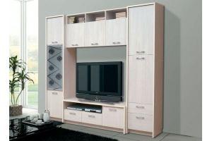 Модульная стенка для гостиной - Мебельная фабрика «Виктория»
