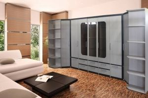 Модульная стенка Престиж - Мебельная фабрика «Мебельный комфорт»