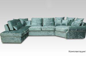 Модульный диван Аванти Неоклассик комплектация Е - Мебельная фабрика «PERFECT»