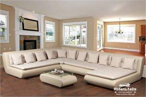 модульный диван для большой гостиной Браас - Мебельная фабрика «МебельЛайн»