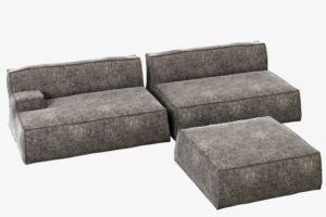 Модульный диван для дома ALDES 24   - Мебельная фабрика «Alternativa Design», г. Самара