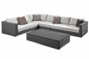 Модульный диван из ротанга - Мебельная фабрика «ЭвиЛайн»