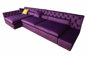 Модульный диван Капитоне - Мебельная фабрика «Энигма»