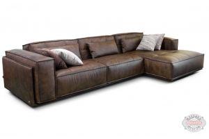 Модульный диван Лофт с оттоманкой - Мебельная фабрика «8 марта»