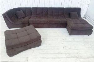 Модульный диван с пуфом Лагонда - Мебельная фабрика «Палитра»