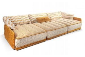 Модульный диван Тетрис-1 - Мебельная фабрика «Британника»