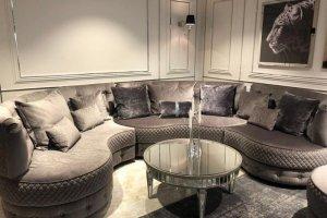 Модульный круглый диван Барселона - Мебельная фабрика «Аккорд»