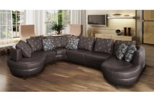 Модульный круглый диван Матео - Мебельная фабрика «SID Диваны»