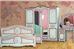 Спальня Азалия Белый Ясень - Мебельная фабрика «Кубань-мебель»
