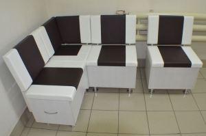 Кухонный уголок Квадро сосна выбеленная - Мебельная фабрика «Миссия»
