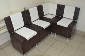 Кухонный уголок Квадро венге темный - Мебельная фабрика «Миссия»