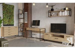 Модульный набор мебели в гостиную Лофт - Мебельная фабрика «ТриЯ»