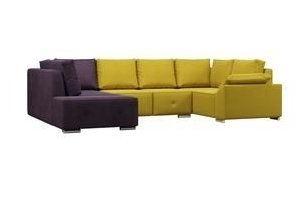 Модульный П-образный диван Фанки 3 - Мебельная фабрика «Woodcraft»