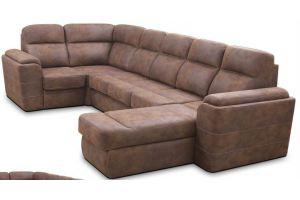 Модульный П-образный диван Валенсия - Мебельная фабрика «Любимая мебель»