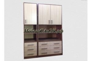 Модульный шкаф с нишами 0034 - Мебельная фабрика «САнЭК»