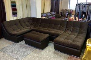 модульный угловой  диван Ланкастер - Мебельная фабрика «Финнко-мебель»