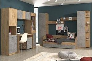 Мебель в детскую Молодёжная Ассоль-2 - Мебельная фабрика «Континент»
