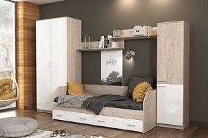 Гарнитур для спальни Молодёжная Ассоль-5 - Мебельная фабрика «Континент»