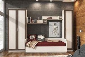 Комплект мебели Молодёжная Ассоль-6 - Мебельная фабрика «Континент»