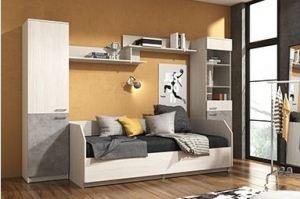 Спальный гарнитур Молодёжная Ассоль-8 - Мебельная фабрика «Континент»