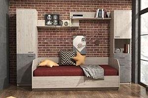 Мебель для детей Молодёжная Ассоль-9 - Мебельная фабрика «Континент»