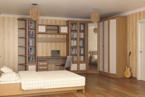 Молодежная комната Барселона 26 - Мебельная фабрика «Визит»