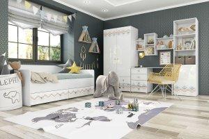 Молодежная светлая Модерн Абрис - Мебельная фабрика «Столлайн»