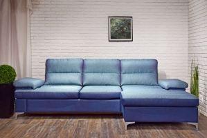 Угловой диван с оттоманкой Монако - Мебельная фабрика «Андреа»