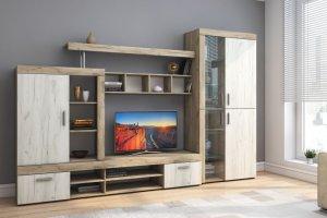 МОНТАНА гостиная Дуб Серый/Дуб Белый КРАФТ - Мебельная фабрика «НК-мебель»