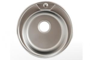 Мойка Лагуна врезная из нержавейки круг D4949 - Оптовый поставщик комплектующих «Модерн стайл»