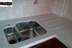 Мойка для кухни из Акрила 2 - Оптовый поставщик комплектующих «Реал Стоун»