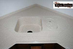 Мойка для кухни из Акрила 6 - Оптовый поставщик комплектующих «Реал Стоун»