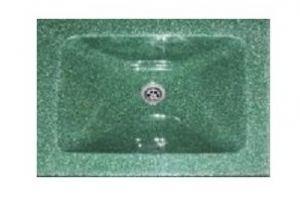 Мойка из искусственного мрамора артикул - В02 - Оптовый поставщик комплектующих «Студия камня»