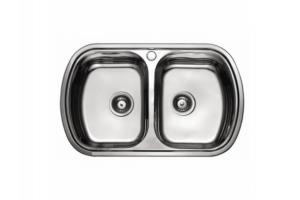 Мойка кухонная 720*390*180 чаши - Оптовый поставщик комплектующих «Мебельщик»