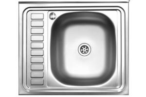 Мойка кухонная 600x600 правая - Оптовый поставщик комплектующих «Мебельщик»